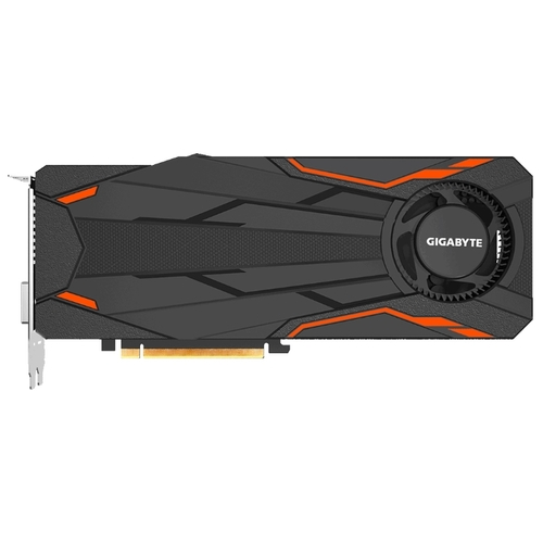 Изображение Видеокарта GIGABYTE GeForce GTX 1080 Turbo OC 8G 'GV-N1080TTOC-8GD' 8 ГБ GDDR5X