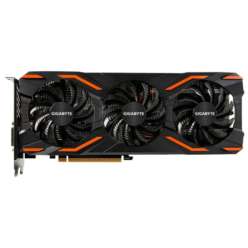 Изображение Видеокарта GIGABYTE GeForce GTX 1080 Windforce 3 OC 8G 'GV-N1080WF3OC-8GD' 8 ГБ GDDR5X