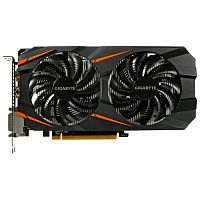 Изображение Видеокарта GIGABYTE GeForce GTX 1060 WindForce OC 3G 'GV-N1060WF2OC-3GD' 3 ГБ GDDR5