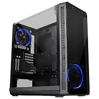 Изображение Корпус Thermaltake View 37 Riing Edition Black 'CA-1J7-00M1WN-00' БП: нет, черный
