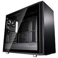 Изображение Корпус Fractal Design Define S2 TG Blackout Edition 'FD-CA-DEF-S2-BKO-TGL' БП: нет, черный