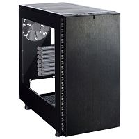Изображение Корпус Fractal Design Define S Window Black 'FD-CA-DEF-S-BK-W' БП: нет, черный