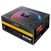 Изображение Блок питания Thermaltake Toughpower DPS G RGB 850W Gold 'PS-TPG-0850DPCTEU-T' 850 Вт